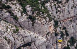 Montserrat in Spanje Stock Fotografie