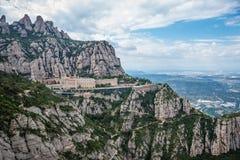 Montserrat in Spanje Royalty-vrije Stock Afbeelding