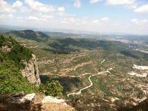Montserrat, Spanje royalty-vrije stock afbeelding
