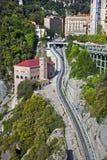 Montserrat stacja i kolej obraz royalty free