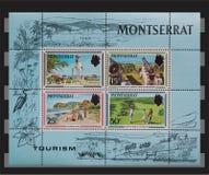 Montserrat stamps Stock Photo