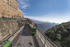 Montserrat Train Station stockbild
