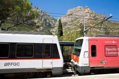 Montserrat Train Station Imagen de archivo libre de regalías