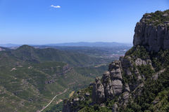 Montserrat Viewpoint - Catalonia - Spain Royalty Free Stock Photos