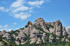 montserrate góra Fotografia Royalty Free