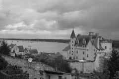 Montsoreau Castle Stock Photo