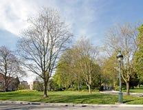 Montsouris公园(巴黎法国)的看法 库存图片