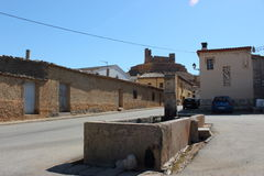 Montuenga de Soria. Royalty Free Stock Photo