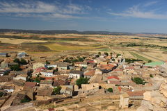 Montuenga de Soria, Spain. Montuenga de Soria is a locality of the province of Soria, judicial party of Almazán, Autonomous Community of Castile and Leon, Spain Stock Image