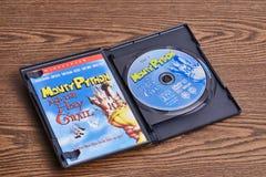 Monty Python DVD i święty graal Fotografia Stock