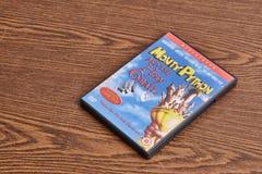 Monty Python DVD i święty graal Obraz Royalty Free