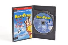 Monty Python DVD i święty graal Zdjęcie Royalty Free