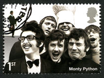 Monty Python UK Postage Stamp Stock Images