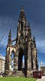 Monumen de Sir Walter Scott Photos libres de droits