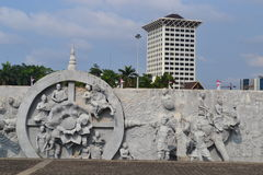 Monumen Nasional, Джакарта Стоковое фото RF