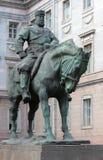 Monument à Alexandre III à St Petersburg, Russie Image libre de droits