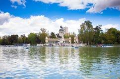 Monument à Alfonso XII dans Photos stock