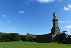 Monument à amiral Collingwood, Tynemouth Photo stock