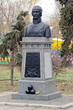 Monument à amiral Ushakov dans Kerch Photo stock