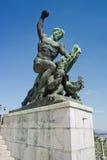 Monument à Budapest Photographie stock libre de droits