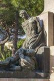 Monument à Christopher Columbus dans Rapallo, Italie Photo stock