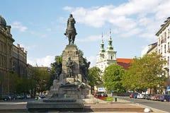 Monument à Cracovie Image libre de droits