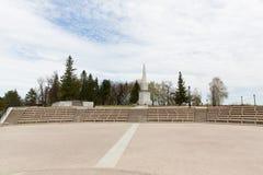 Monument à Ermak Photographie stock libre de droits