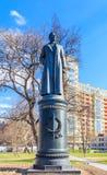Monument à Felix Dzerzhinsky dans le Museon Art Park à Moscou Image libre de droits