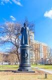 Monument à Felix Dzerzhinsky dans le Museon Art Park à Moscou Image stock
