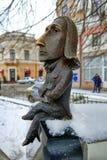 Monument à Franz Liszt dans Chernivtsi, Ukraine Images stock