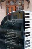 Monument à Franz Liszt dans Chernivtsi, Ukraine Photos stock