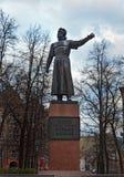 Monument à Kozma Minin dans Nijni-Novgorod Photographie stock libre de droits