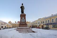 Monument à Lénine à Rybinsk Photographie stock libre de droits