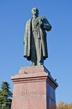 Monument à Lénine à Yalta image stock