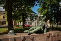 Monument à l'†finlandais de soldats «les participants de la 2ème guerre mondiale Images libres de droits