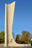 Monument à l'état souterrain de polonais et à l'armée à la maison Photographie stock