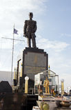 Monument à l'amiral de la flotte thaïlandaise royale Prinze de Krom Luang Jumborn Khet Udomsakdi Photos libres de droits