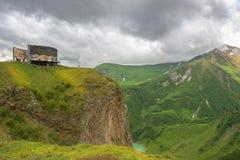 Monument à l'amitié entre les pays de la Géorgie et la Russie Photo libre de droits