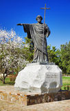 Monument à l'apôtre Andrew de saint Images libres de droits