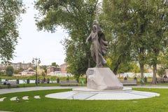 Monument à l'apôtre Andrew Premier-appelé, Kharkov, Ukrain Photos libres de droits