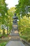 Monument à l'auteur Nekrasov image libre de droits