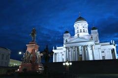 Monument à l'empereur russe Alexandre II sur la place de sénat photographie stock