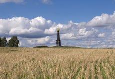 Monument à la bataille de Borodino Images stock