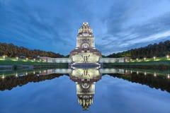 Monument à la bataille des nations à Leipzig photographie stock libre de droits