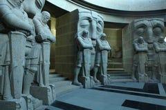 Monument à la bataille des nations à Leipzig, Allemagne photographie stock libre de droits