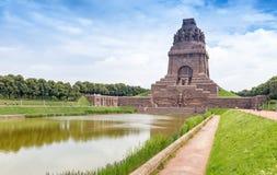 Monument à la bataille des nations, Leipzig, Allemagne photos libres de droits