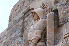 Monument à la bataille des nations Völkerschlachtdenkmal à Leipzig Allemagne photo libre de droits
