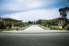 Monument à la mère s'affligeante, parc récréationnel Boukhara de Samanids Photographie stock