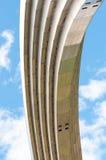 Monument à la Réunion de l'Ukraine et de la Russie à Kiev Images stock