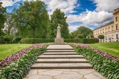 Monument à la Reine Maud du ` s de la Norvège du Pays de Galles Images libres de droits